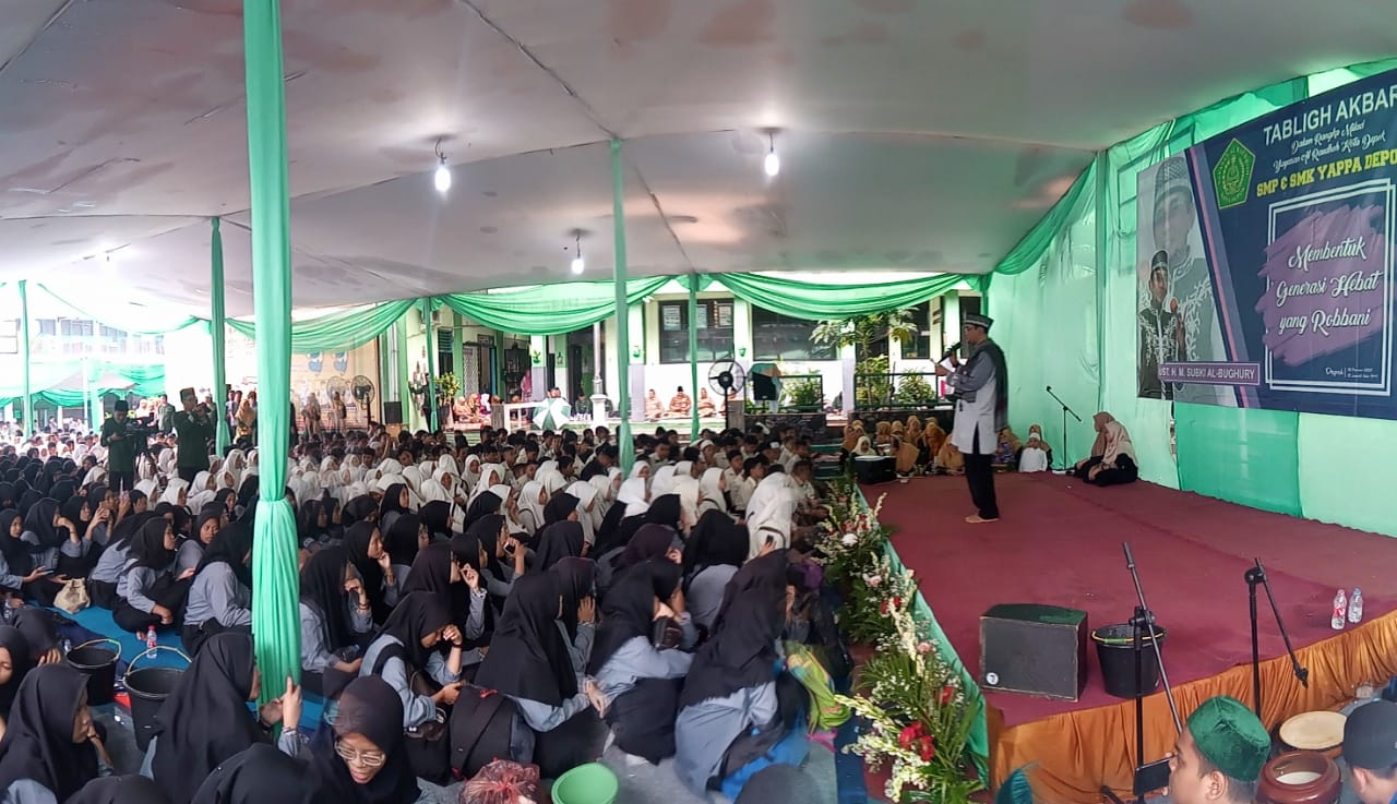 Tabligh akbar yayasan al raudhoh