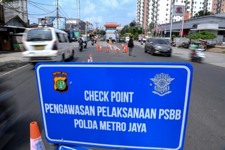 check point polda metro jaya